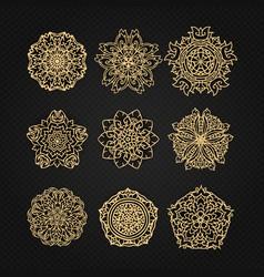 Design elements graphic thai design vector