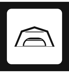 Hangar icon in simple style vector image vector image