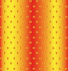 Abstract Orange Halftone Pattern Background For De vector image