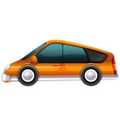 An elegant automobile vector