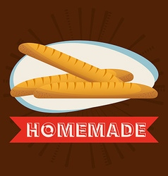 homemade product vector image