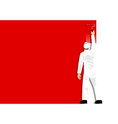 Paint It Red vector image