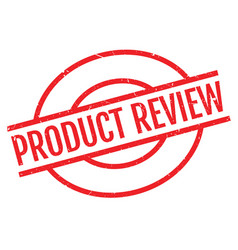 product review rubber stamp vector image