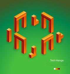 Tetri-henge vector