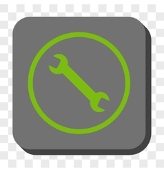 Wrench Rounded Square Button vector