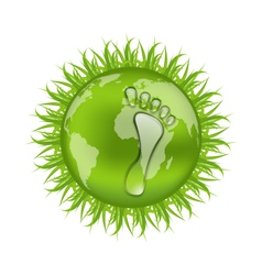 go green concept save our planet - vector image