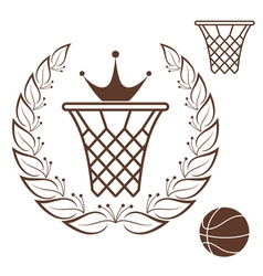 Basketball vector image vector image