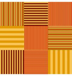 stripe set seamless vector image