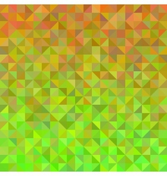 Abstract background in orange and green vector image