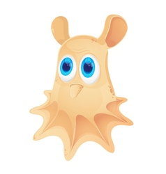 Cartoon Grimpoteuthis isolated on white background vector
