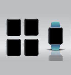 smart electronic intelligence watch vector image