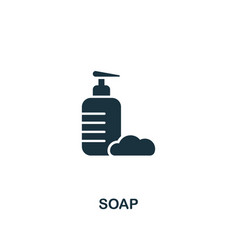 soap icon premium style design from hygiene icons vector image