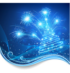 Magic Christmas vector image vector image