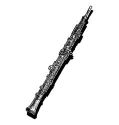 oboe vector image vector image