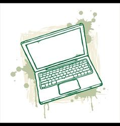 Grunge Notebook vector image vector image