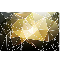black gray yellow white geometric background with vector image