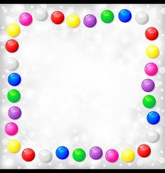 Blur background balls vector