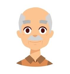 Happy grandpa vector