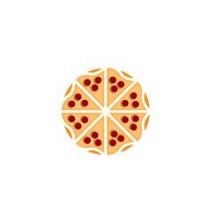 italian pizzeria logo designs inspiration vector image
