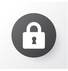 lock icon symbol premium quality isolated close vector image