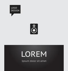 of sound symbol on sound vector image