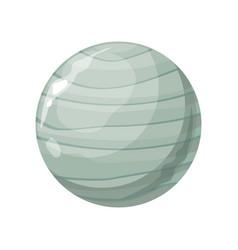 planet uranus icon vector image