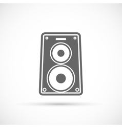 Speaker music icon vector image
