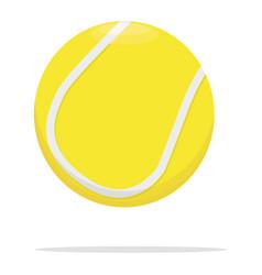 Tennis ball icon game ball concept vector