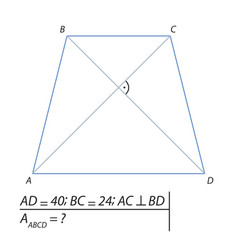 Finding the area of a trapezoid abcd-01 vector