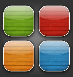 Backgrounds with colorful wooden texture for the vector image