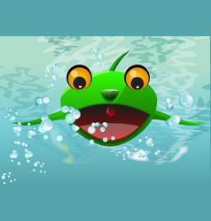 Frog thing vector