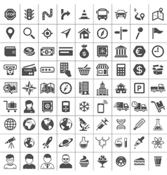 Universal Icons vector image vector image