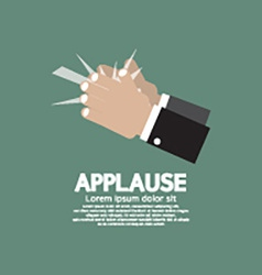 Applause vector image vector image