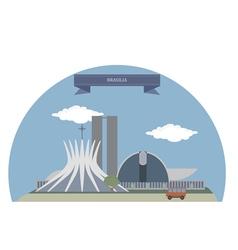 Brasilia vector