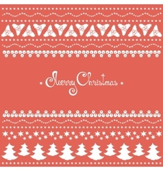 Christmas doodle elements set vector