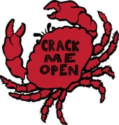 Crack Me Open vector