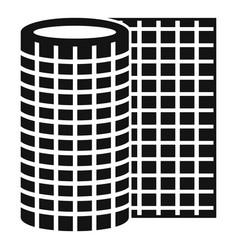 Floor linoleum icon simple style vector