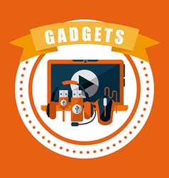 gadget tech vector image