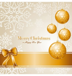 Luxury Merry Christmas background EPS10 file vector