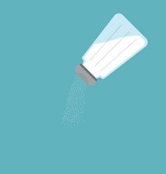 salt icon flat design vector image
