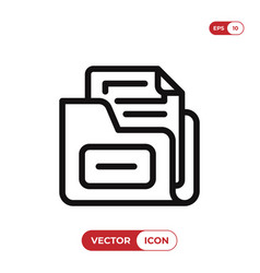 save file icon vector image