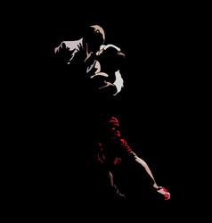 tango dance passion vector image
