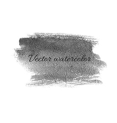 Watercolor careless billet isolated design element vector