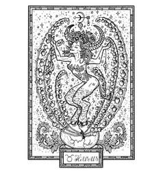 zodiac sign taurus or bull vector image vector image