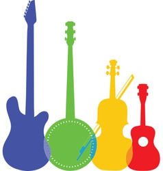 Instruments Color vector image