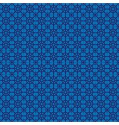 Retro navy blue seamless pattern eps10 vector