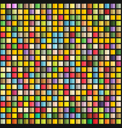 Abstract geometric seamless pattern of color vector