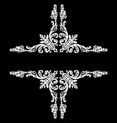 Decorative Vintage Ornate Banner vector image