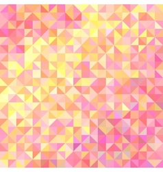 Abstract background in shades of pink and yellow vector