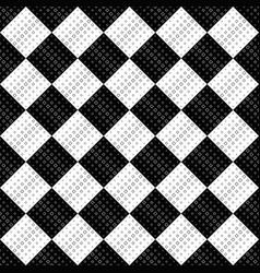 abstract geometrical monochrome square pattern vector image